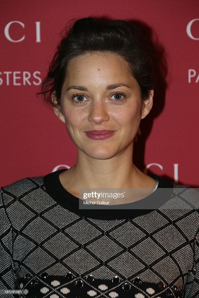 Marion Cottillard attends the Gucci Paris Masters 2012 at Paris Nord Villepinte on December 1, 2012 in Paris, France.