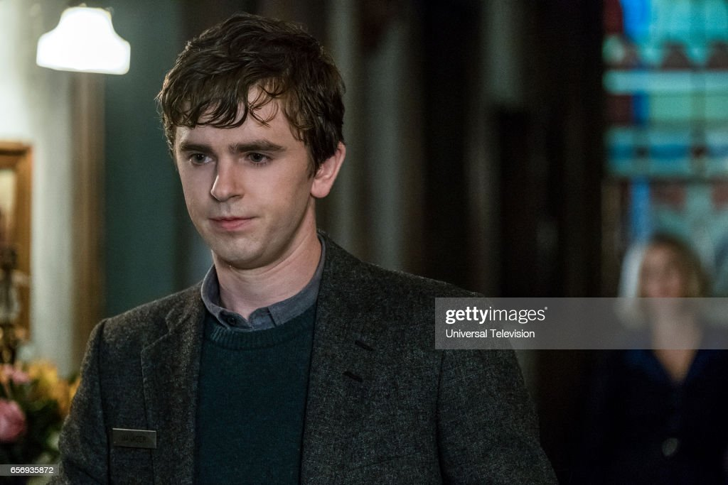 MOTEL -- 'Marion' Episode 506 -- Pictured: Freddie Highmore as Norman Bates --