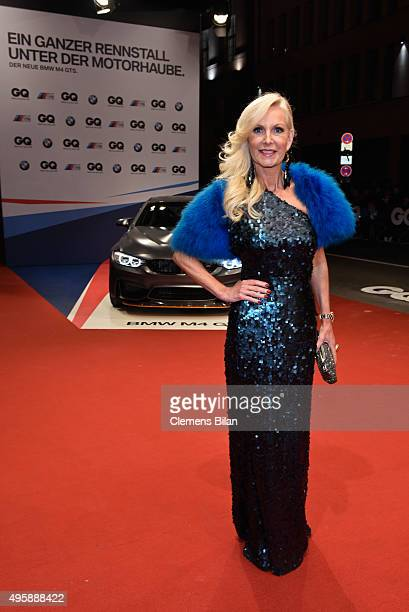 Marion Fedder arrives at the GQ Men of the year Award 2015 at Komische Oper on November 5 2015 in Berlin Germany