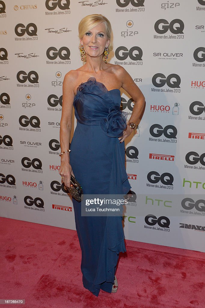 Marion Fedder arrives at the GQ Men of the Year Award at Komische Oper on November 7, 2013 in Berlin, Germany.