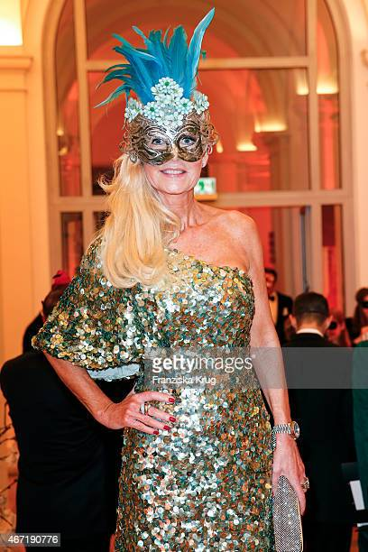 Marion Fedder attends the Bal Masque 2015 on March 21 2015 in Hamburg Germany