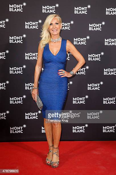 Marion Fedder attends the Montblanc De La Culture Arts Patronage Award 2015 on June 24 2015 in Hamburg Germany