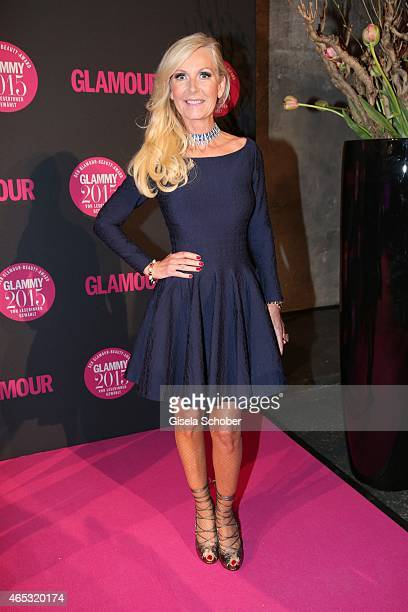 Marion Fedder wife of Jan Fedder during the Glammy Award 2015 at Schlafwagenfabrik on March 5 2015 in Munich Germany