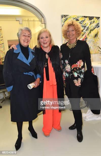 Marion GrcicZiersch fashion designer Susanne Wiebe and Gabi von Thun during 'Maximilian Seitz EinwicklungenImpressionismusFest im Orient' Exhibition...