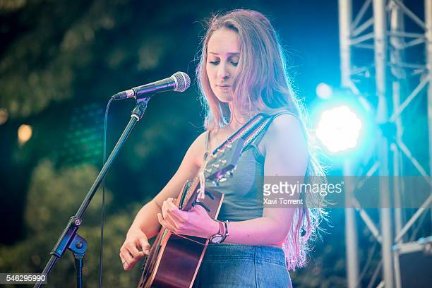 Marion Harper performs on stage during Festival Jardins de Pedralbes on July 11 2016 in Barcelona Spain