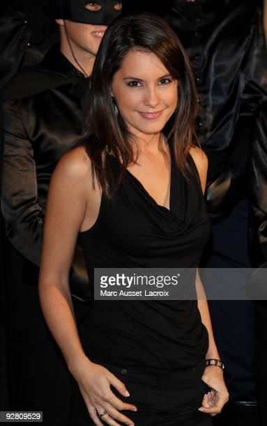 Marion Jolles attends the premiere of 'Zorro' at the Folies Bergeres on November 5 2009 in Paris France