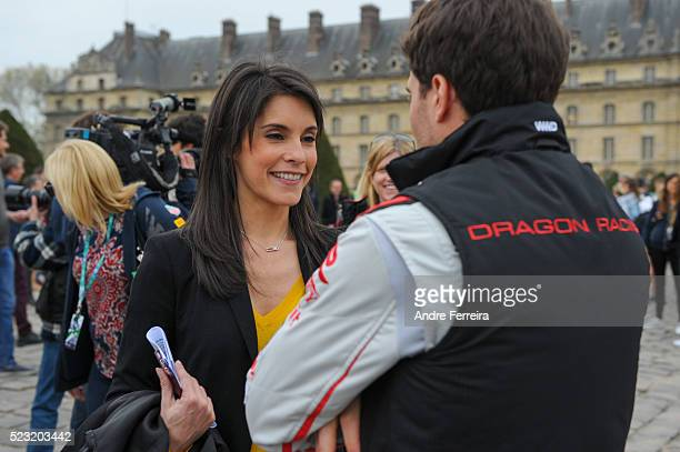 Marion Jolles Grosjean during the media day for the Paris Grand Prix Formula E Championship 2016 at Les Invalides on April 22 2016 in Paris France