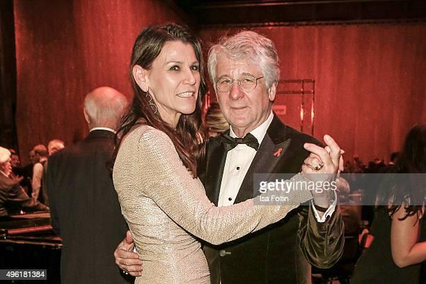 Marion Kiechle and Marcel Reif attend the 22nd Opera Gala at Deutsche Oper Berlin on November 7 2015 in Berlin Germany