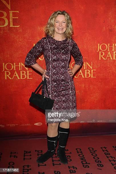 Marion Kracht at the Premiere Of Cinema movie 'John Rabe' in Cinestar at Potsdamer Platz in Berlin