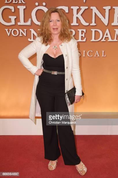 Marion Kracht attends the premiere of the musical 'Der Gloeckner von Notre Dame' on April 9 2017 in Berlin Germany