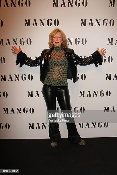 Marion Kracht Bei Der Fashionparty '10 Jahre Mango In Deutschland' Im Ewerk In Berlin