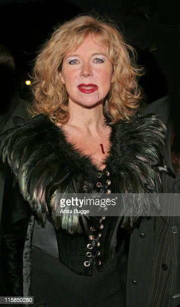 Marion Kracht during Berlin Premiere Musical 'Tanz der Vampire' Arrivals at Theater des Westens in Berlin Berlin Germany