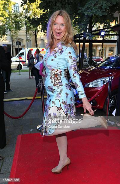 Marion Kracht during the Peugeot BVC Castingnight Summer 2015 at Kaeferschaenke on June 28 2015 in Munich Germany