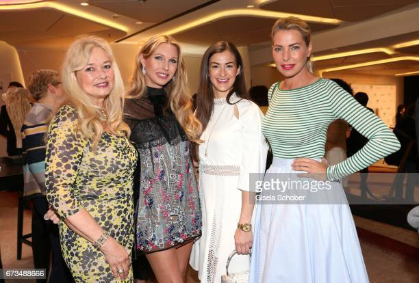 Marion Kueffer Sabine Piller Claudia Schwarz InStyle Productions and Giulia Siegel during the Lovely Friends Fashion Lunch benefit to 'Children for a...