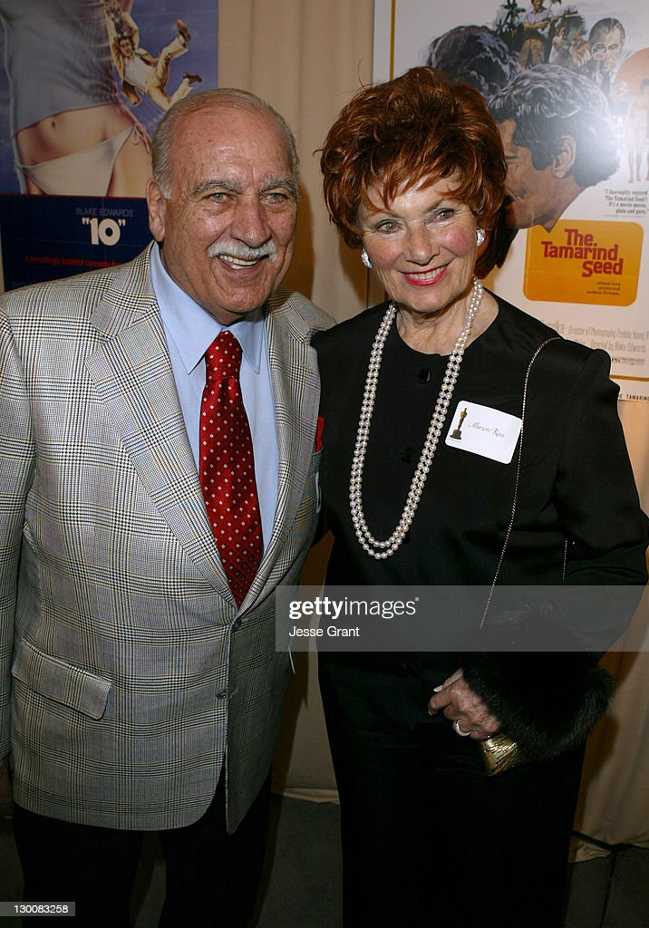 Marion Ross (R) and Paul Michael during Reception for Blake Edwards, Honorary Academy Award Recipient - February 26, 2004 at The Annex, Hollywood & Highland in Hollywood, California, United States.