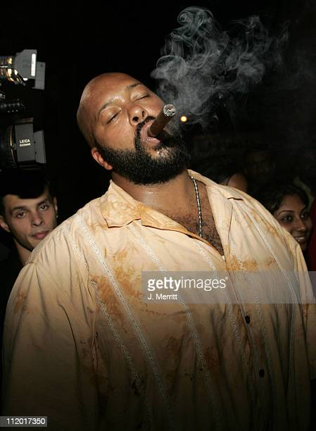 Marion Suge Knight during Paris Hilton Record Release Party at Mansion at Mansion in Miami California United States