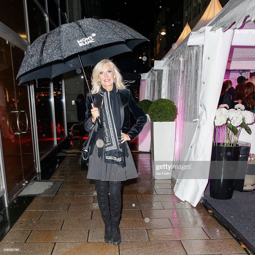 Marion Vedder attends the Montblanc House Opening on February 09, 2016 in Hamburg, Germany.