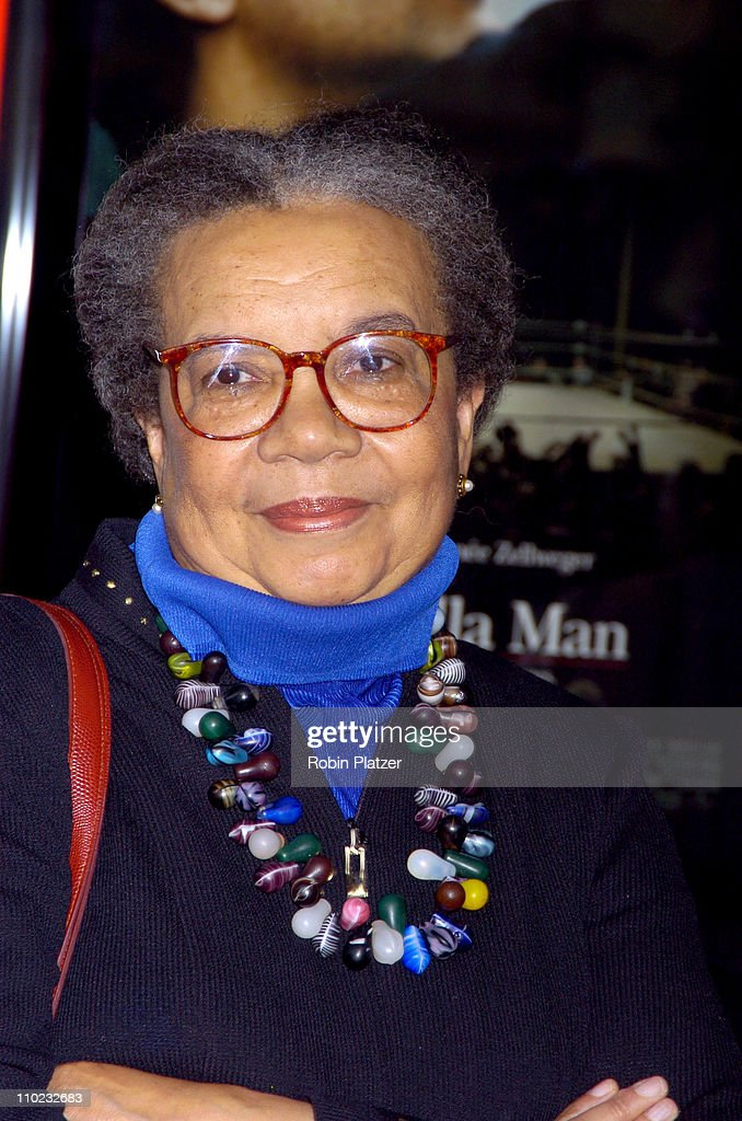 Marion Wright Edelman during 'Cinderella Man' New York City Premiere - Arrivals at Loews Lincoln Square Theatre in New York City, New York, United States.