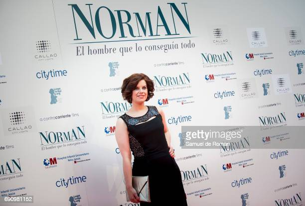 Mariona Ribas attends 'Norman The Moderate Rise and Tragic Fall of a New York Fixer' Madrid Premiere on May 31 2017 in Madrid Spain
