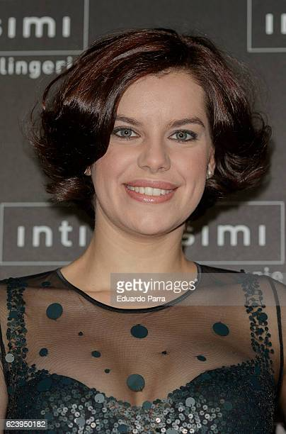Mariona Ribas attends the 'Intimissimi 20 years anniversary' photocall at Italian embassy in Spain on November 17 2016 in Madrid Spain