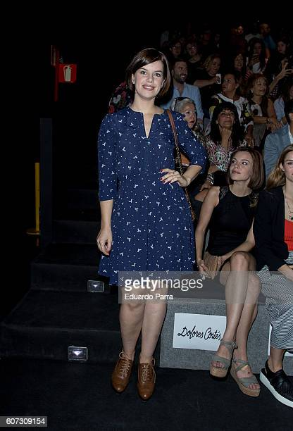 Mariona Ribas is seen attending MercedesBenz Fashion Week Madrid Spring/Summer 2017 at Ifema on September 17 2016 in Madrid Spain