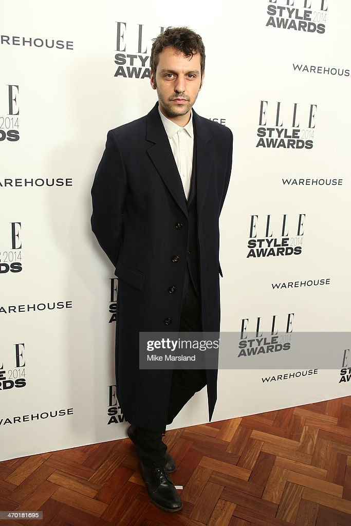 Marios Schwab attends the Elle Style Awards 2014 at one Embankment on February 18, 2014 in London, England.