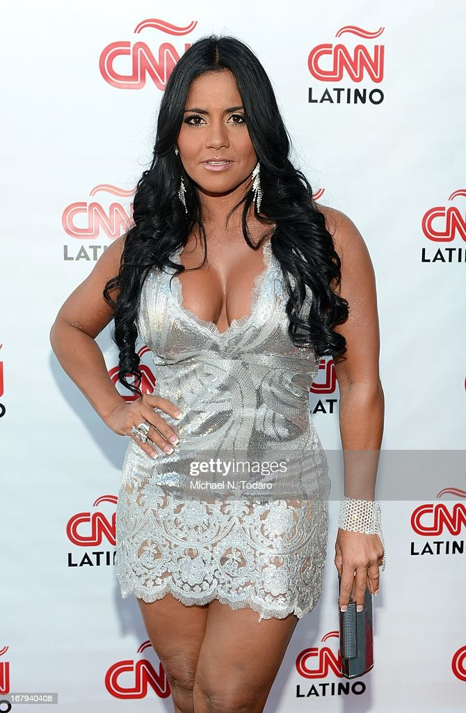 Maripily Rivera attends the 2013 CNN en Espanol and CNN Latino Upfront at Ink 48 Hotel on May 2, 2013 in New York City.