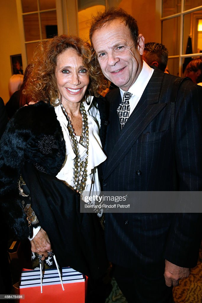 <a gi-track='captionPersonalityLinkClicked' href=/galleries/search?phrase=Marisa+Berenson&family=editorial&specificpeople=206844 ng-click='$event.stopPropagation()'>Marisa Berenson</a> and Francois Marie Banier attend the 'Loulou de la Falaise' book signing. Held at the Fondation 'Pierre Berge - Yves Saint Laurent' on November 5, 2014 in Paris, France.