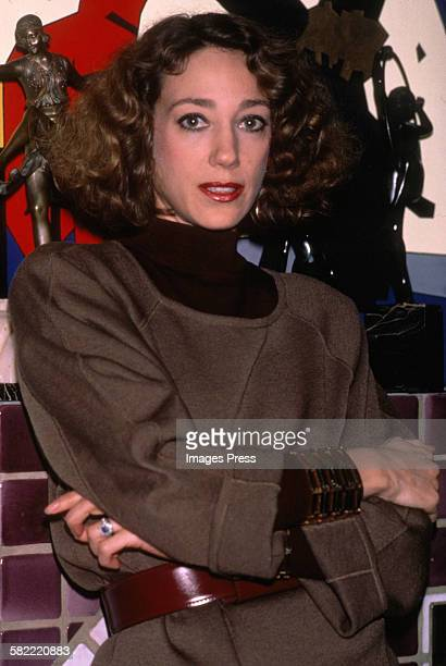 Marisa Berenson at home circa 1984 in New York City