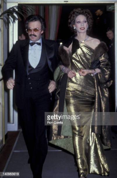 Marisa Berenson attends 36th Annual Golden Globe Awards on January 27 1979 at the Beverly Hilton Hotel in Beverly Hills California