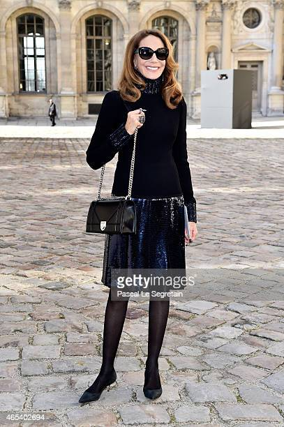 Marisa Berenson attends the Christian Dior show as part of the Paris Fashion Week Womenswear Fall/Winter 2015/2016 on March 6 2015 in Paris France