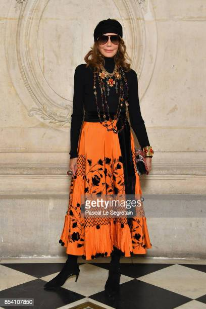 Marisa Berenson attends the Christian Dior show as part of the Paris Fashion Week Womenswear Spring/Summer 2018 on September 26 2017 in Paris France