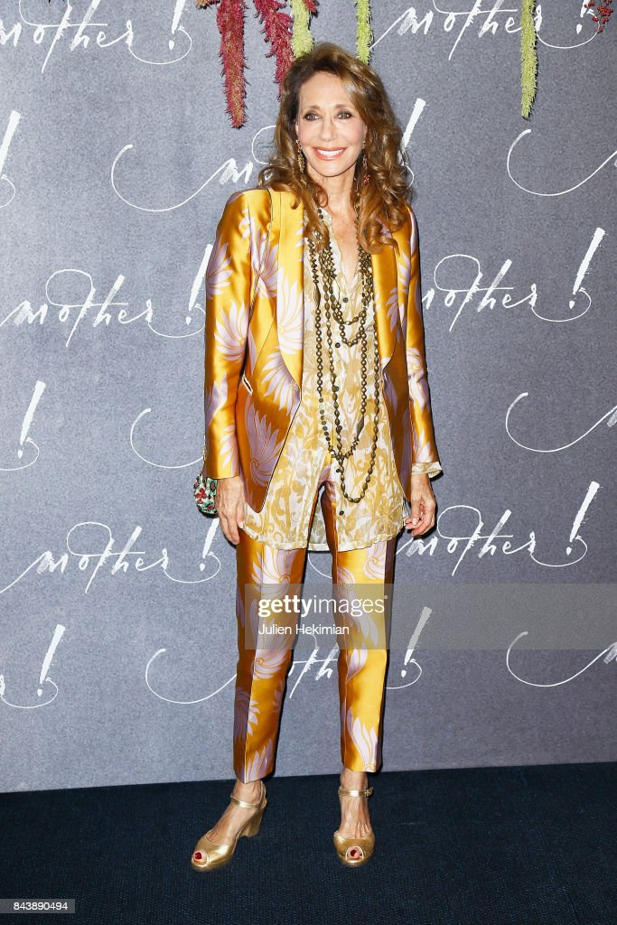 Marisa Berenson attends the French Premiere of 'mother!' at Cinema UGC Normandie on September 7, 2017 in Paris, France.