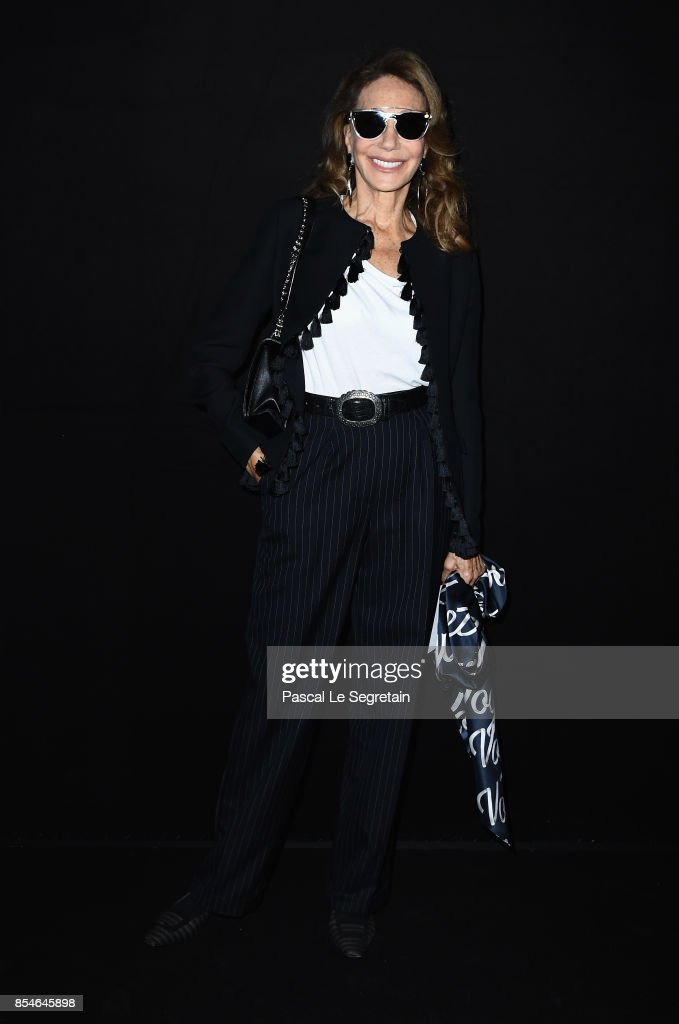 Marisa Berenson attends the Lanvin show as part of the Paris Fashion Week Womenswear Spring/Summer 2018 on September 27, 2017 in Paris, France.