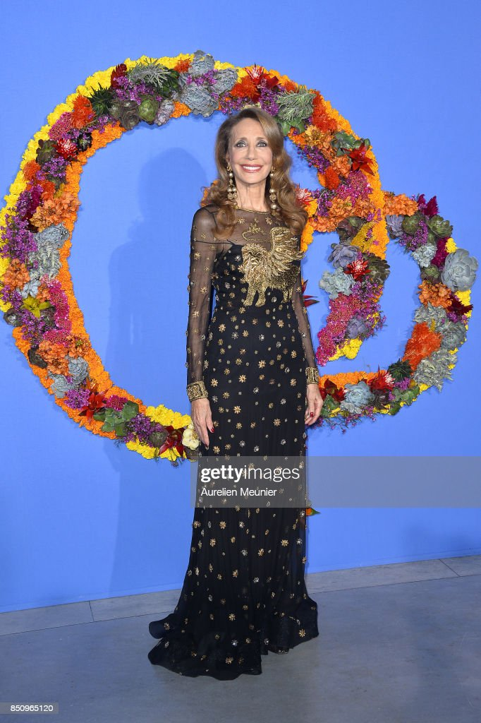 Marisa Berenson attends the opening season gala at Opera Garnier on September 21, 2017 in Paris, France.