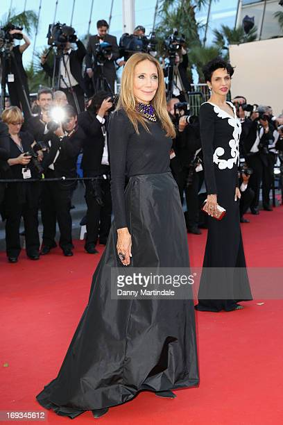 Marisa Berenson attends the Premiere of 'Nebraska' during the 66th Annual Cannes Film Festival at The Palais des Festivals on May 23 2013 in Cannes...