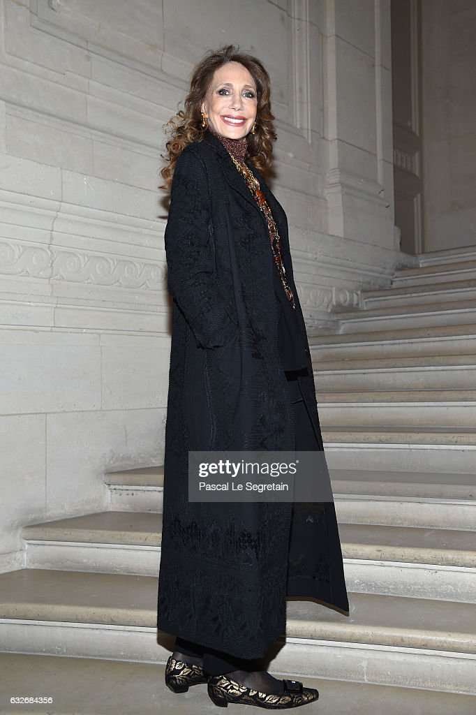 Marisa Berenson attends the Valentino Haute Couture Spring Summer 2017 show as part of Paris Fashion Week on January 25, 2017 in Paris, France.