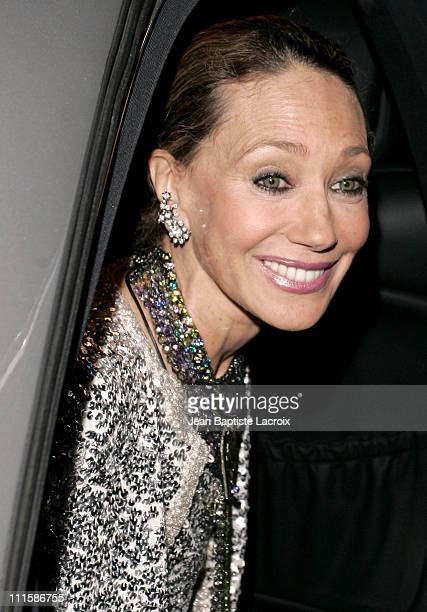 Marisa Berenson during Opening of Chaumet Exhibition 'Napoleon in Love' Arrivals at Place Vendome in Paris France