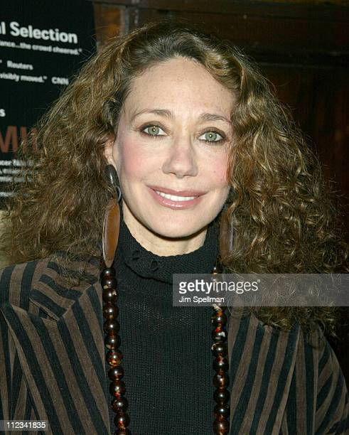 Marisa Berenson during Premiere screening of The Making Meaning of 'We Are Family' at The Screening Room in New York City New York United States