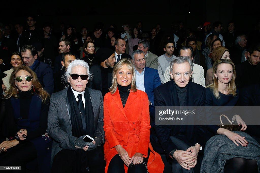 Dior Homme : Front Row - Paris Fashion Week - Menswear F/W 2015-2016