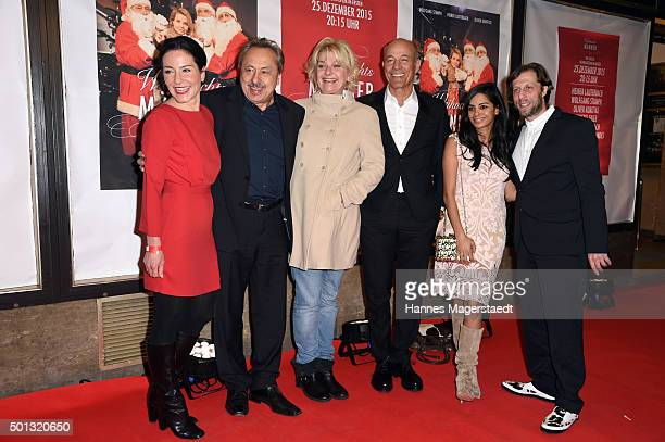 Marisa Burger Wolfgang Stumph Saskia Vester Heiner Lauterbach CollienUlmen Fernandes and Oliver Korittke attend the premiere of the film...