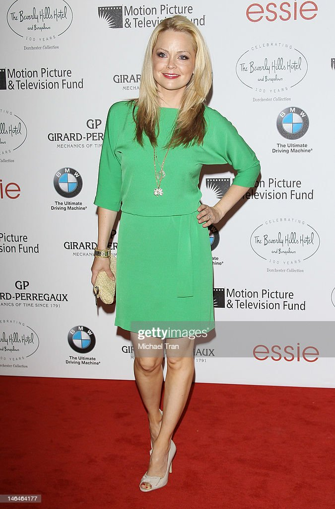 Marisa Coughlan arrives at the Beverly Hills Hotel - 100th Anniversary Celebration held on June 16, 2012 in Beverly Hills, California.