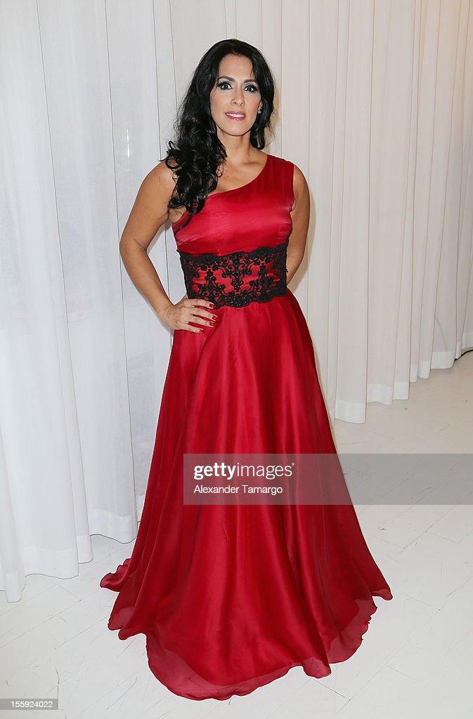 Marisa del Portillo attends Miami Hair, Beauty & Fashion 2012 By Rocco Donna at Viceroy Hotel Spa on November 8, 2012 in Miami, Florida.