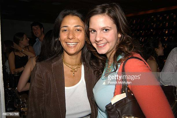 Marisa Drew and Allison Chayo attend Emily Grosman and Marina Hoffmann Host a Cocktail Party for their Closest Friends at Pop Burger on March 29 2005...