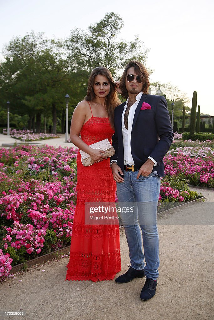<a gi-track='captionPersonalityLinkClicked' href=/galleries/search?phrase=Marisa+Jara&family=editorial&specificpeople=624415 ng-click='$event.stopPropagation()'>Marisa Jara</a> and Manuel Vitorio pose on the Teatre Grec's gardens during the New Generation by Francina on June 11, 2013 in Barcelona, Spain.