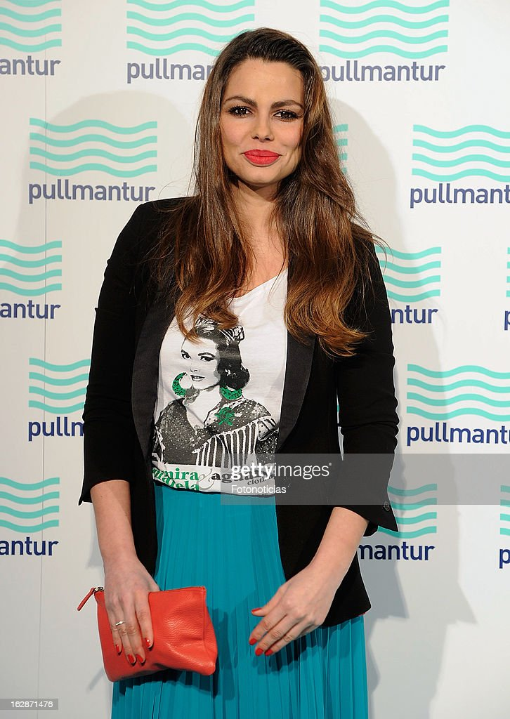 Marisa Jara attends the Blue Night by Pullmantur at Neptuno Palace on February 28, 2013 in Madrid, Spain.