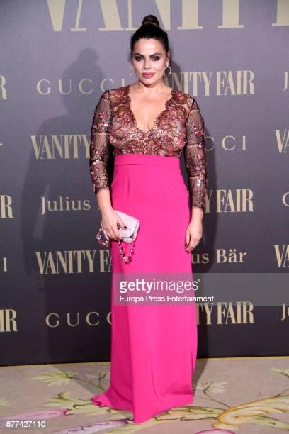 Marisa Jara attends the gala 'Vanity Fair Personality of the Year' to Garbine Muguruza at Ritz Hotel on November 21 2017 in Madrid Spain