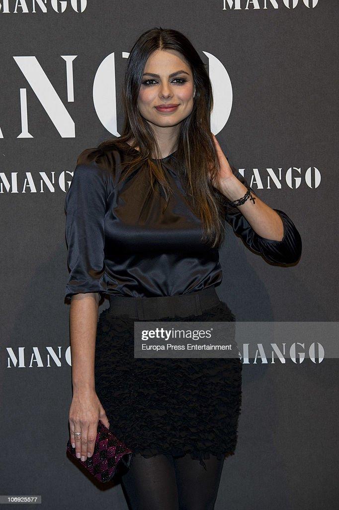 Marisa Jara attends the launch of Mango new spring/summer 2011 collection at the Palacio de Cibeles on November 16, 2010 in Madrid, Spain.