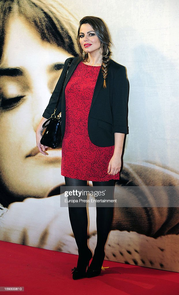 Marisa Jara attends 'Venuto Al Mondo' premierte at Capitol Cinema on January 10, 2013 in Madrid, Spain.
