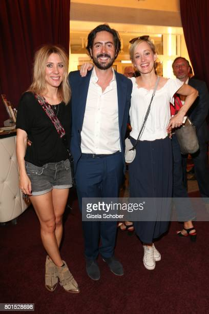 Marisa Leonie Bach Director David Dietl and Judith Richter attend the premiere of the movie 'Ella's Baby' during the film festival Munich at Gloria...